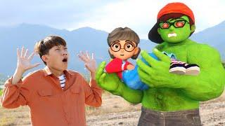 Scary Teacher 3D In Real Life | Nickhulk vs Zombie Confront NAT & Tani