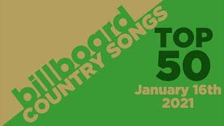 Billboard Country Songs Top 50 (January 16th, 2021)