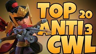 NEW BEST TOP 20 ANTI 3 TH13 BASE FOR CWL WAR WITH LINK | ANTI YETI | ANTI HYBRID | ANTI AIR |