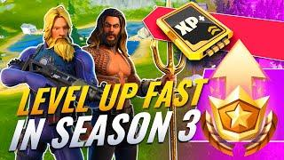 THE BEST & FASTEST Methods To Level Up & Gain XP in Fortnite Season 3!