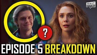 WANDAVISION Episode 5 Breakdown & Ending Explained Spoiler Review   Marvel Easter Eggs & Theories