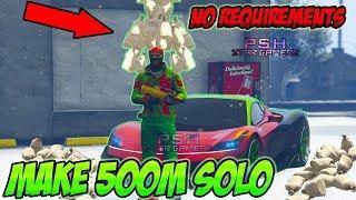 NEW GTA 5 Money Glitch *Make MILLIONS Now* Unlimited Solo 1.50 Money Glitch