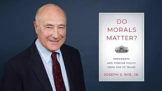 Do Morals Matter? | Behind The Book featuring Joseph Nye