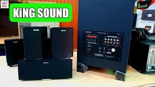 EDIFIER   Multimedia Speaker   Hometheatar Speaker   DTS Sound System   5.1 Top Speaker Collection