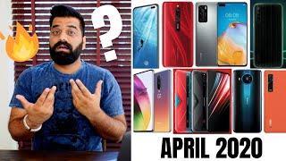 Top Upcoming Smartphones - April 2020