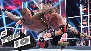 WWE TOP 10 - RANDY ORTON'S TOP 10 GREATEST MATCHES OF ALL TIME   UPDATED 2021