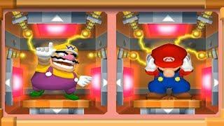 Mario Party 7 - 8 Player Ice Battle Yoshi, Mario, Luigi, Daisy, Toad, Toadette, Wario, Waluigi