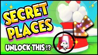 *NEW* TOP 10 SECRET HIDING PLACES in Adopt Me!! Adopt Me Secrets! Prezley!!