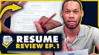 Customer Service Associate: 10 Point Resume Review Ep. 1