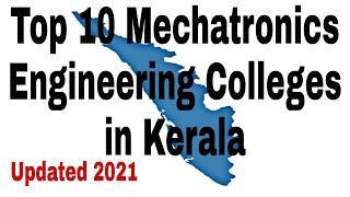 Top 10 Mechatronics Engineering Colleges in Kerala #college #engineering
