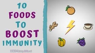 10 FOODS TO BOOST YOUR IMMUNITY - HOW TO BOOST IMMUNITY NATURAL
