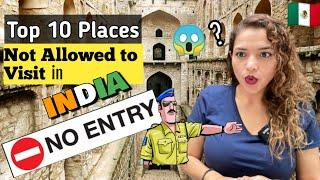 Top 10 Secret Places in India You're not Allowed to Visit | Reaction | Mexican Girl