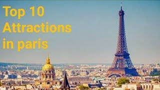 Top 10 Paris tourist attractions 2020 // place to visit // France2020 // Paris 2020 // Travel Guide