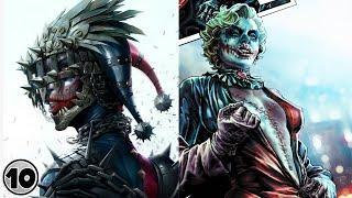 Top 10 Dark Alternate Versions Of Harley Quinn