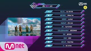 What are the TOP10 Songs in 1st week of February? M COUNTDOWN 200206 EP.651