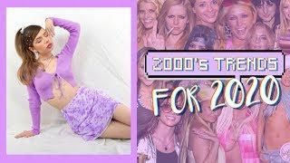 Top 2020 Fashion Trends that are from the 00's/Y2K!