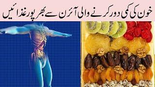 Top 10 Iron Rich Foods || Health Related Information