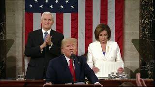 WATCH: Pelosi rips up Trump's State of the Union speech | 2020 State of the Union
