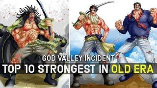 Top 10 Strongest Characters From Old Era in One Piece, Ranked