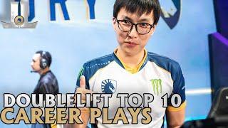 Doublelift Top 10 Career Plays | Lol esports