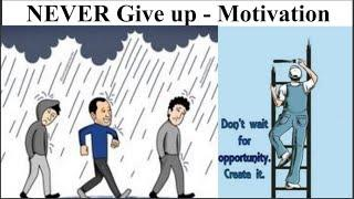 Never Give Up | Motivation | Top 10 Million word Pictures|