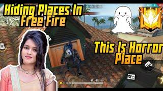 Top 10 Hiding / Hidden Places In Bermuda Map Garena Free Fire | Hiding Places In Free Fire