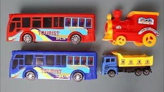 Lots of Toy Vehicles Collection - Transportation Vehicles Toys With Learn Color & Number