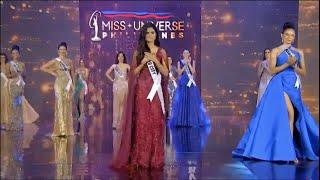 Miss Universe Philippines 2020 TOP 5 ANNOUNCEMENT