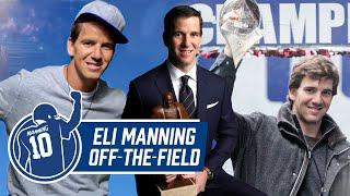 Eli Manning's TV Commercials, Community Work, & MORE Off-the-Field Moments | Eli Manning Retirement