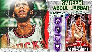 GALAXY OPAL KAREEM GAMEPLAY! THE BEST CENTER AND IS GOING TO BREAK NBA 2k20 MyTEAM