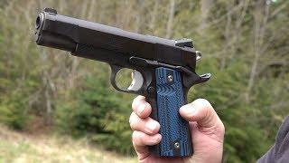 Les Baer Thunder Ranch Special 1911 with LOK Grips