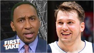 Stephen A. reacts to Luka Doncic dropping 42 points on the Clippers in Game 5 | First Take