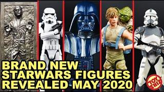 Brand NEW STARWARS Action figure news for MAY 2020