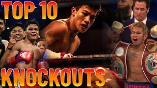 TOP 10 PINOY KNOCKOUTS of 2019