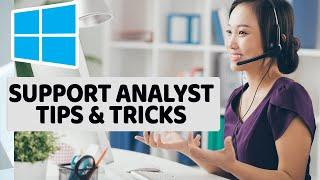 Top Windows 10 Productivity Tips and Tricks for Desktop Support Center Analyst