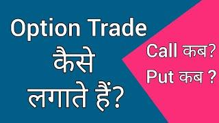 How to Place Option Trade Order | What is NRML & MIS | When to Place Call & When to place Put Order