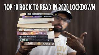 TOP 10 BOOKS TO READ DURING CORONA LOCK DOWN TOP 10 BOOKS TO READ DURING QUARANTINE  TOP NOVELS 2020