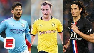 David Silva, Mario Gotze, Edinson Cavani & more: Ranking the top free agents in football | ESPN FC