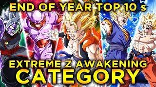2019 END OF YEAR TOP 10'S! THE TOP 10 EZA UNITS IN DOKKAN! (DBZ: Dokkan Battle)