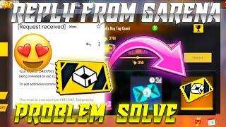 CUSTOM ROOM CARD NOT RECEIVE | FREE FIRE REPLY | CUSTOM CARD PROBLEM|aaj custom card kyon nahin mila