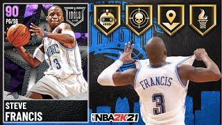 AMETHYST STEVE FRANCIS GAMEPLAY! IS HE THE TOP BUDGET POINT GUARD IN NBA 2K21 MyTEAM?