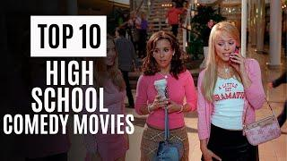 Top 10 Best High School Movies | Best High School Comedy Movies | Wisdom