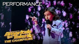 OMG! 7-Year-Old JJ Pantano ROASTS The AGT: Champions Judges! - America's Got Talent: The Champions