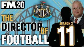 FM20 NEWCASTLE 10 | LIVERPOOL || DIRECTOR OF FOOTBALL CHALLENGE || Football Manager 2020