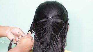 Top 5 Most Beautiful Hairstyles For Party & Wedding / Amazing Hairstyles Tutorials Compilation