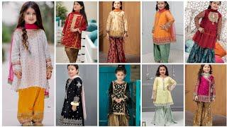 Trending baby girls dress designs ||Top brand baby girl Eid summer dress, frocks designs ideas