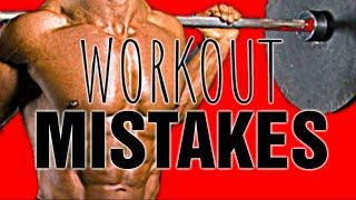 Top 10 Beginner Workout MISTAKES