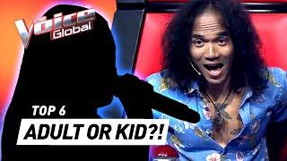 These kids' MATURE VOICES SHOCK The Voice Kids coaches