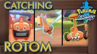 Pokémon Sword & Shield - How to Catch Rotom + All Forms (2% Rarity Pokémon)