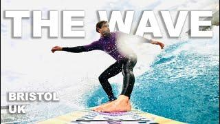 SURFBOARD TEST AT THE WAVE!!! - Court In The Act #freeride VLOG